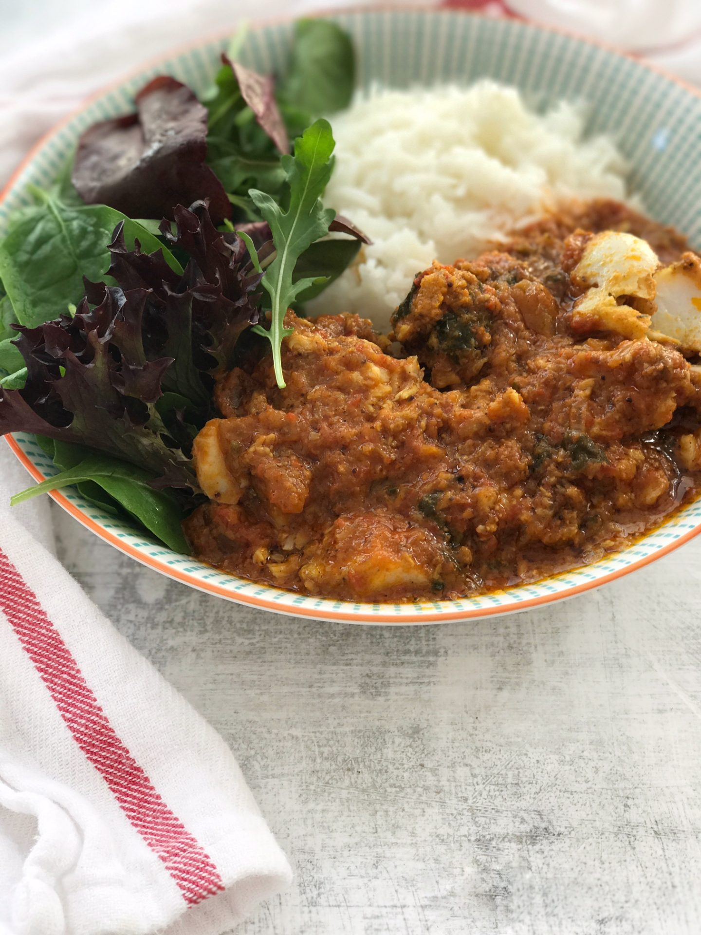Min's Fish Curry