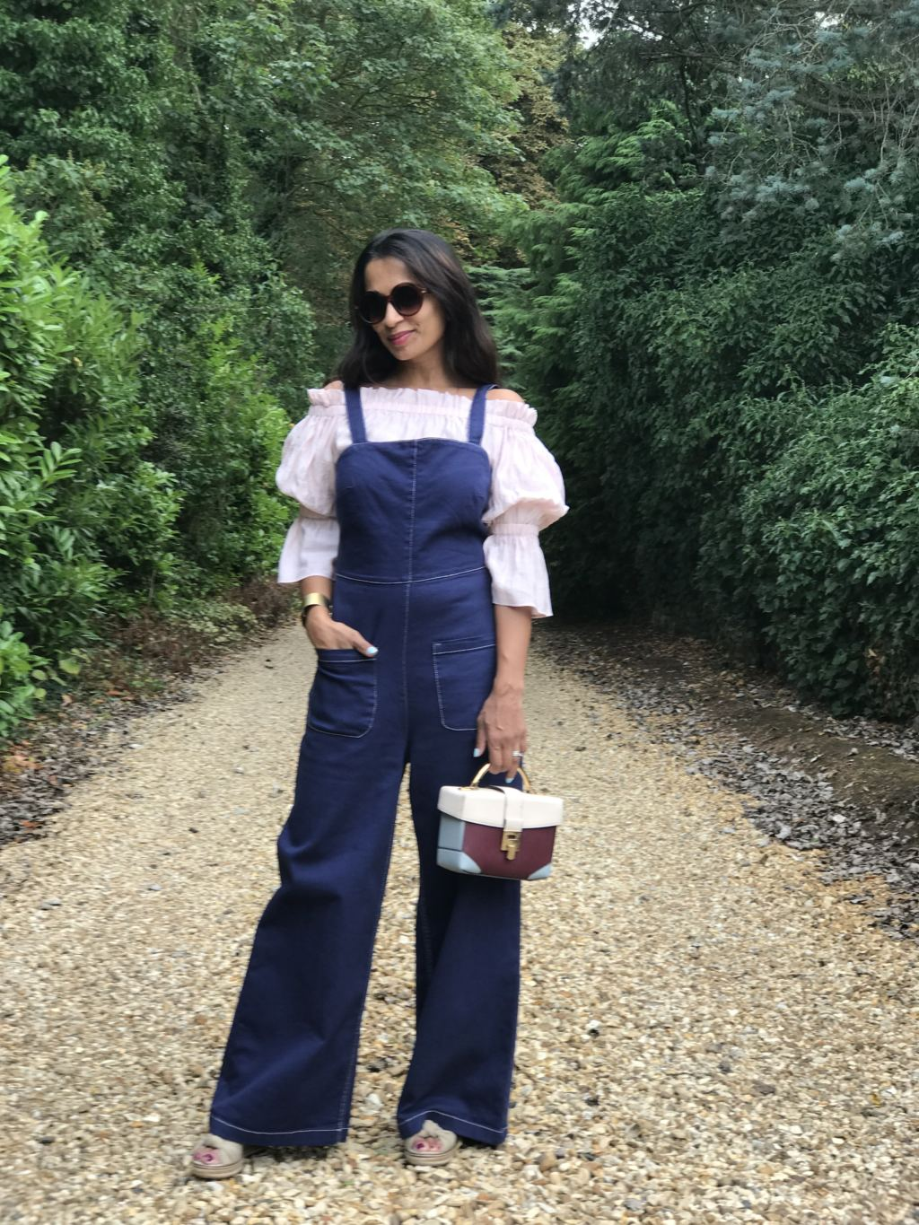 How to make a Denim Jumpsuit work for all seasons.
